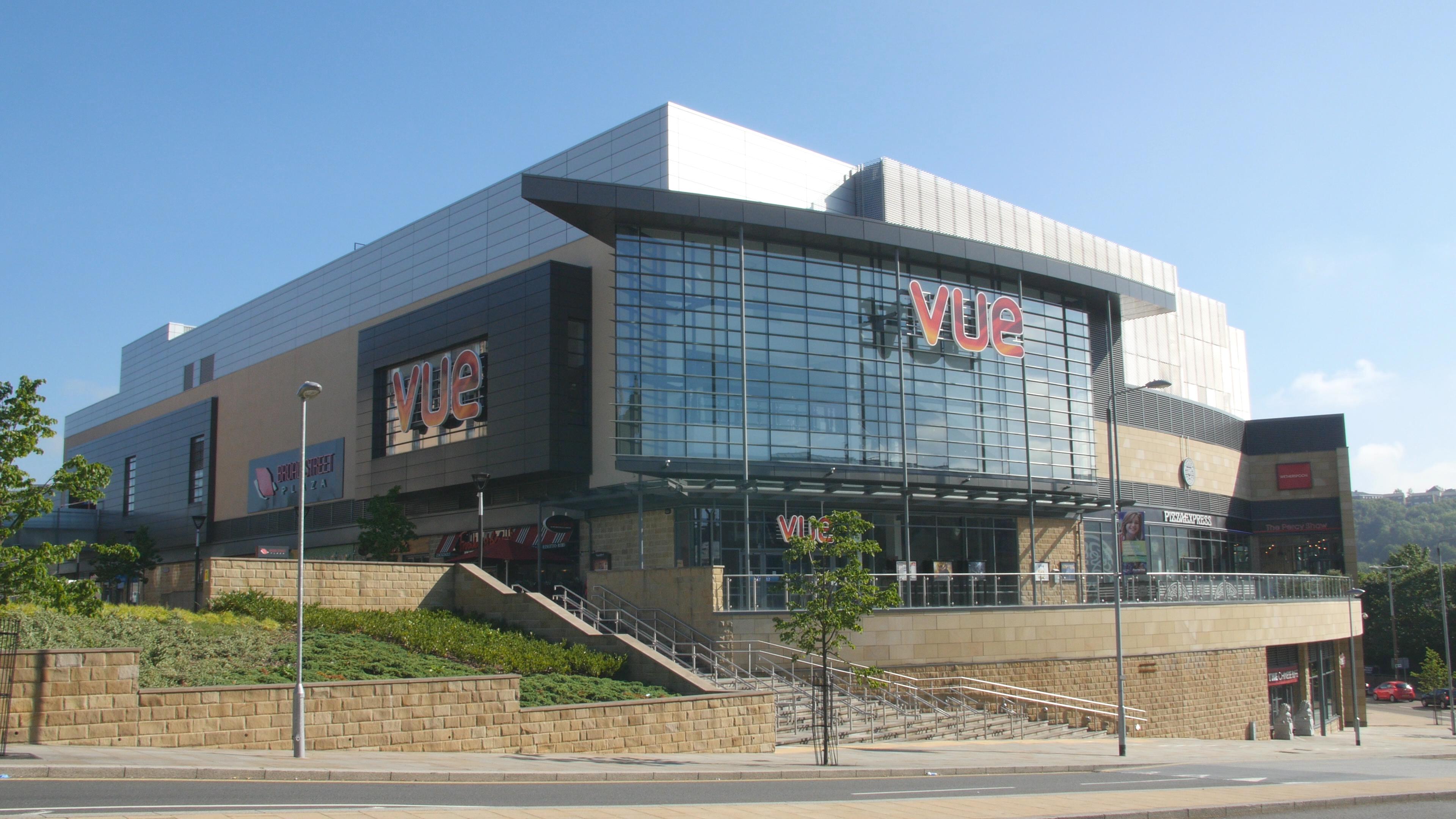 Vue Cinema Halifax Wpl