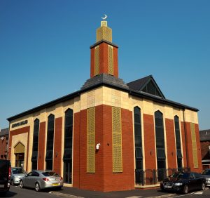 Ashrafia Mosque; Bolton; PerforatedDecorative Rainsreen Panels; Architectural Facade;